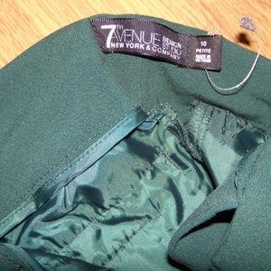 New York & Company Pants - NY & Co 7th Avenue Green Bootcut pants Size 10P